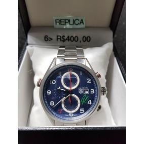 5d7b25904a7 Replica Tag Heuer Monaco - Relógios no Mercado Livre Brasil