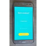 Celular Samsung Galaxy J7 4g Duos 16gb C/ Burn In Usado