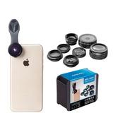 Kit 7 Lentes Profissional Para Smartphones - Alta Qualidade