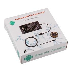 Endoscopio Camara Endoscopica Usb 5 Metros 7mm Android 6 Led