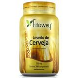 Levedo De Cerveja 500mg - Fitoway - 200 Comprimidos