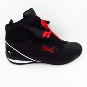 Tenis Everlast Casual Box El 3100 Negro Blanco Rojo Unisex