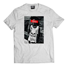 e21d802aa Camisa Camiseta Kid Skull Clothing Swag Oversized Masculina