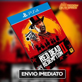 Red Dead Redemption 2 - Ps4 - Original 1 - Pt-br - Imediato!