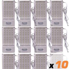 10x Luminaria Emergencia Segurimax Led 300 Lumens B10
