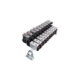 Kit Bloco Manifold 1/4 C/ Silenciador - Romak