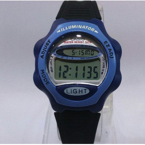 48bbb30fd93 Relógio Feminino Digital Casio Lw 200d 6avd Inox roxo - Relógios De ...