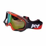 Óculos Para Motocross Trilha Downhill Enduro Nomad Jet Verme 60c87a97234b