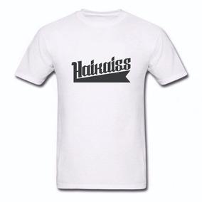 Camisa Haikaiss Branca Em Poliéster Cód 0113 871e3b51e4c