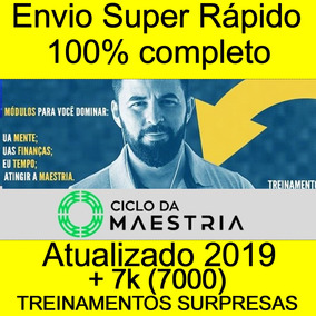 Curso Ciclo Da Maestria 2.0 Wendel Carvalho 2019 + 9000b