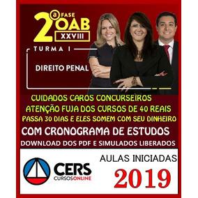 Curs Oab Xxviii 28 2segunda Fase Direito Penal 2019