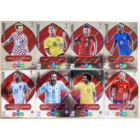 5 Cards Limited Edition Premium Russia 2018
