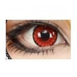 6a73f11835da4 Lentes Crazy Vermelha - Red Cosplay fantasia halloween demon