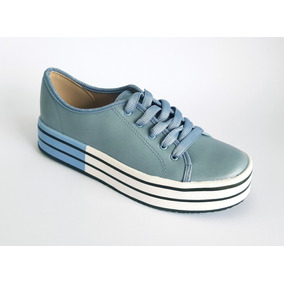 a33f95e34 Tenis Beira Rio Conforto Branco - Sapatos Azul aço no Mercado Livre ...