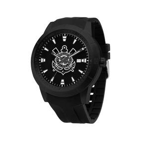 Relógio Technos Masculino Corinthians Como2315ab/8p Preto
