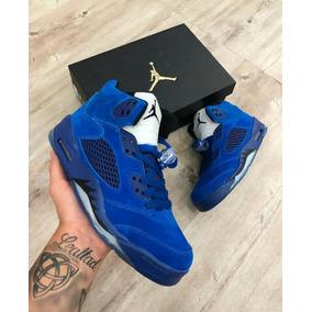 best loved 8e63a d600a Zapatos Jordan Retro 5 Originales Caballeros