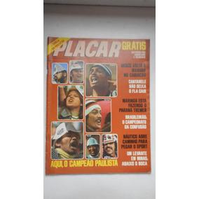 Revista Placar Nº 385 - Set/1977 - Pôster Corinthians E Palm