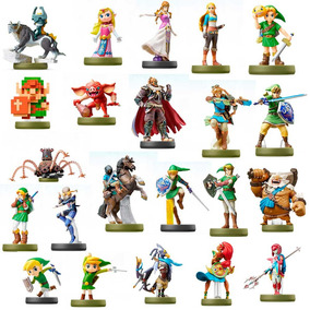 Amiibo Zelda Breath Of The Wild - Kit Completo 22 Cards