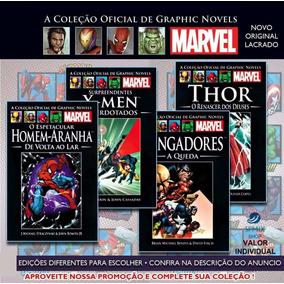 Graphic Novels Marvel Coleção Capa Preta Salvat Colecione