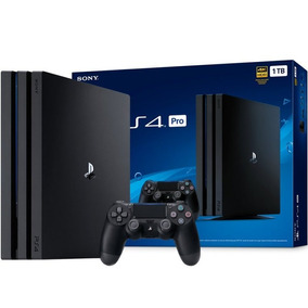 Playstation 4 Pro 1tb Sony Ps4 Pro 4k - 2 Controles