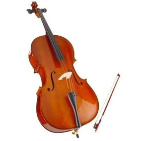 Cello Stradella 4/4 De Estudio Con Arco Y Funda Mc601144