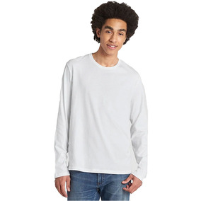 Playera Hombre Camiseta Manga Larga Long Sleeve T-shirt Gap