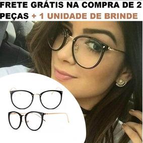 30c2387fefa3b Oculos Da Moda Sem Grau Barato - Óculos no Mercado Livre Brasil