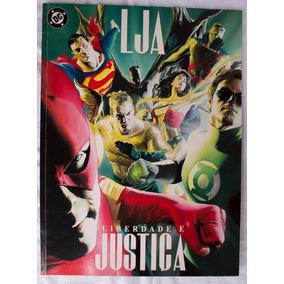 Hq Lja - Liga Da Justiça - Liberdade E Justiça - Alex Ross