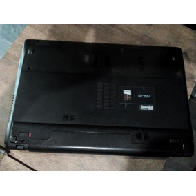 Notebook Asus X55u Amd Dual Core 4gb 320gb Windows 15,6 Led