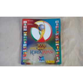 Album Figurinha Mundial 2002 Korea Japão Completo