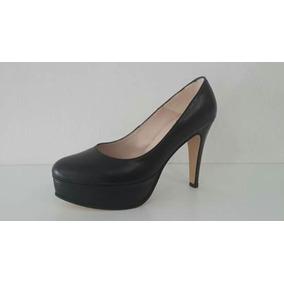 Zapato Plataforma Negro Cerrado - Zapatos de Mujer en Mercado Libre ... 2392bab7306