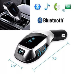 Transmissor Veicular X6 Fm Mp3 Usb Sd P2 Bluetooth