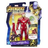 Muñeco Figura Acción Iron Man 6 Hasbro