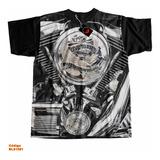Camiseta Motor Harley Davidson Live To Ride