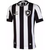 603de38c6f Camisa Botafogo Topper Oficial Home 4137480 - Branco E Preto