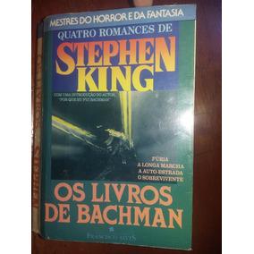 Os Livros De Bachman - Stephen King (rarissimo)