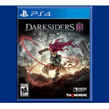 Darksiders Iii Ps4 Español E. Lanzamiento Disponible