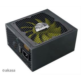 Fonte Real 850w 80 Plus Gold Modular Pfc Ativo Akasa