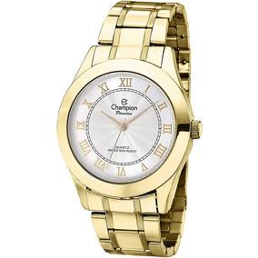 b5f79667c38 Relógio Champion Passion Analógico Dourado Ch24544h - Relógios De ...