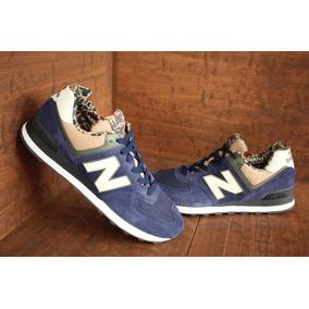 Tenis New Balance 574 Blue/brown Nasotafi2