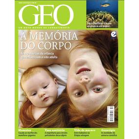 Revista Geo Nº 52 A Memória Do Corpo - Editora Escala