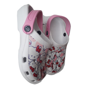 Chanclas Crocs Niña Hello Kitty