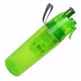 Garrafa Squeeze Água O2 Cool Com Borrifador Dtc -verde Limão
