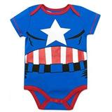 Marvel Capitan America Body Bebe Niño 18 Meses Halloween 000be790e519