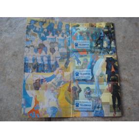 Cartão Telefônico Telebrás Portinari(três Cartões)