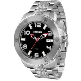 Relógio X-games Masculino Xmss1042 P2sx Aço Analogico Oferta