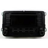 Cd Player Mp3 Bluetooth Original 5z0035160 Para Vw Fox 2015