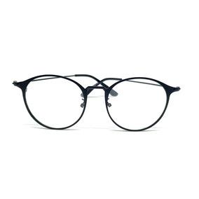 277e9cb41 Óculos Armação De Grau Redondo Metal Geek Gatinho Unissex