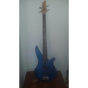 Bajo Electrico Yamaha 4 Cuerdas Azul