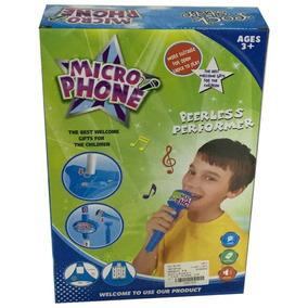 Microfono Gigante De Pie Juguete Niño Navishop